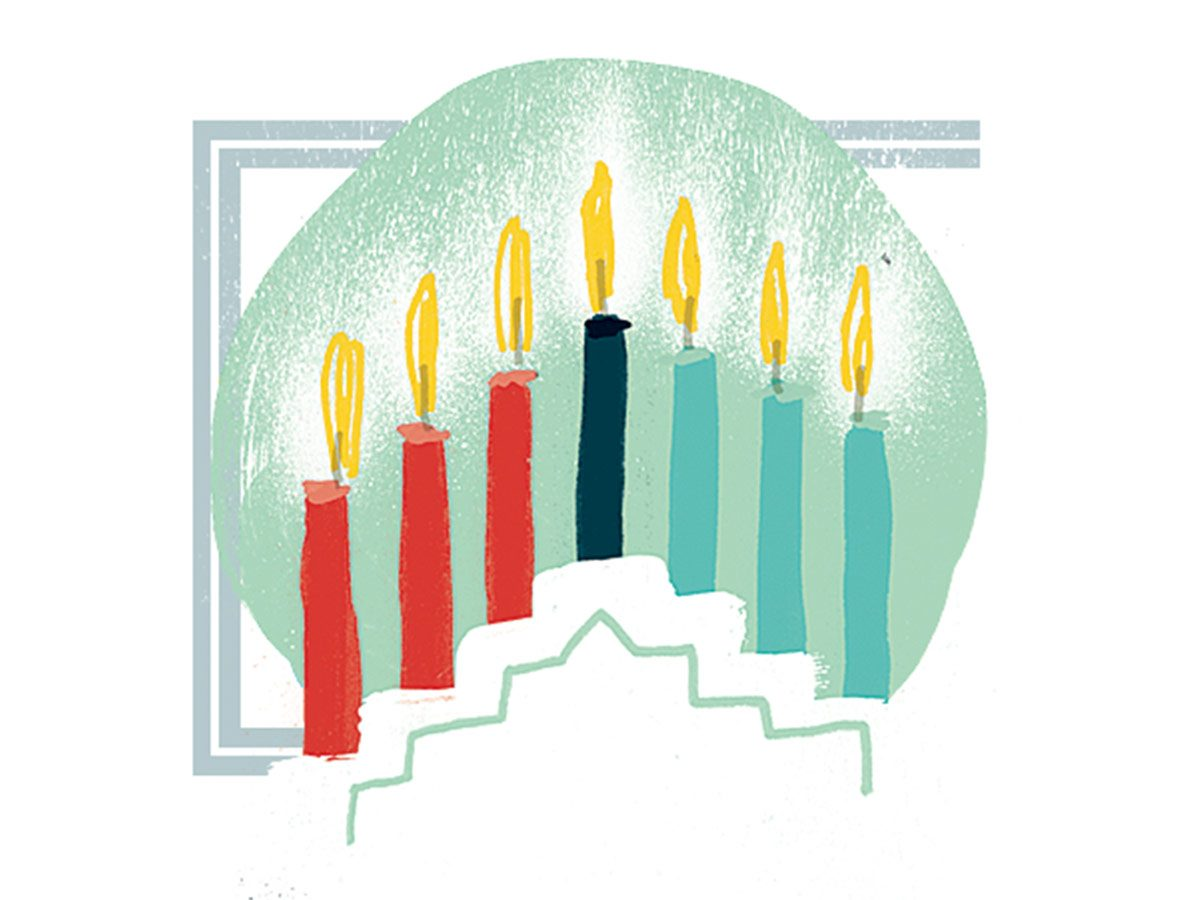 Canadian holiday traditions - kwanzaa