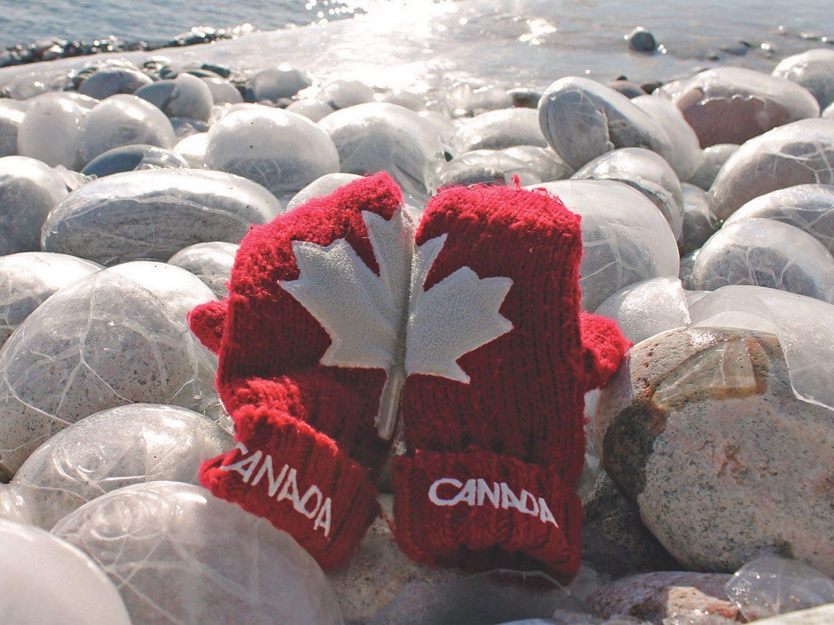 Pebble Beach along Lake Superior
