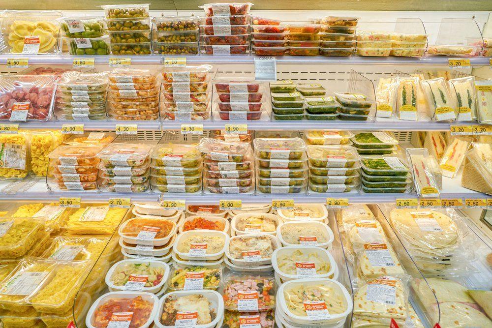 ROME, ITALY - CIRCA NOVEMBER 2017: shelves in a grocery store in Rome.; Shutterstock ID 1071695486; Job (TFH, TOH, RD, BNB, CWM, CM): TOH McCain Farms Recall