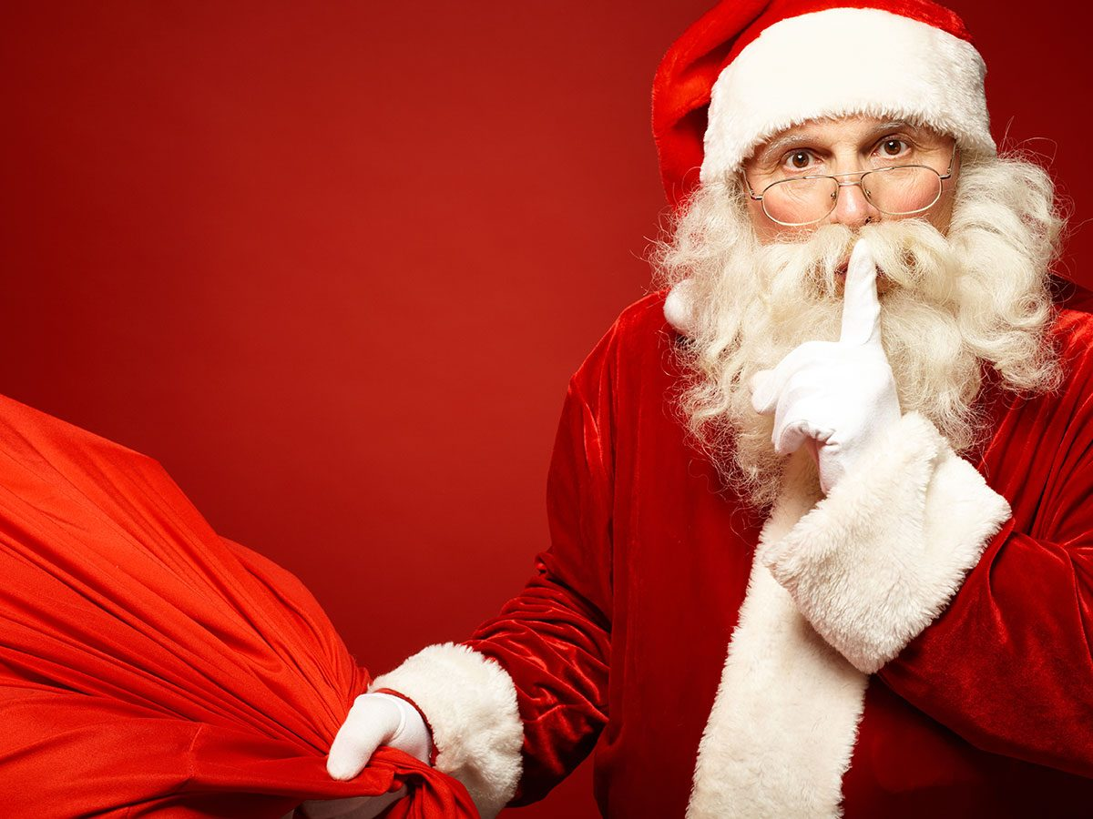 Holiday disasters - Santa secret