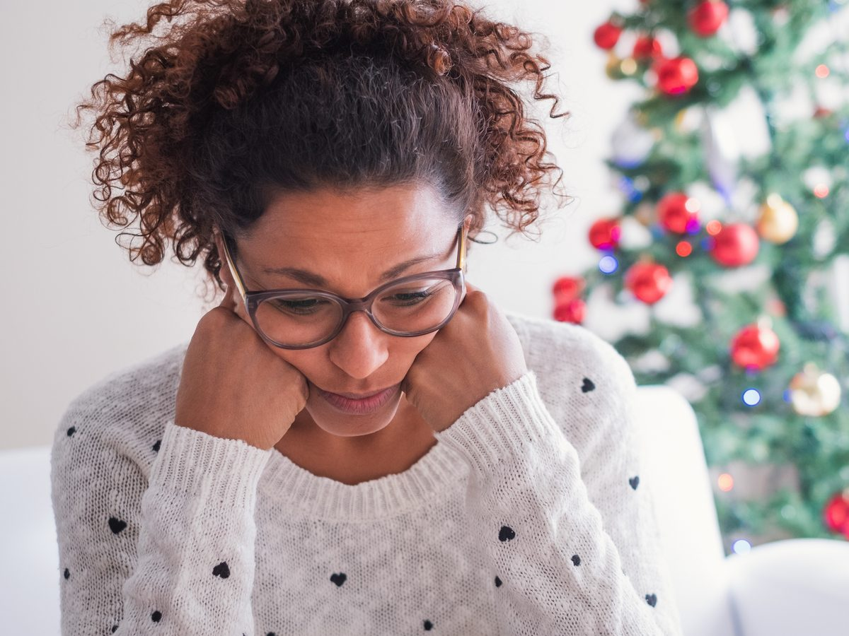 Holiday stress and anxiety