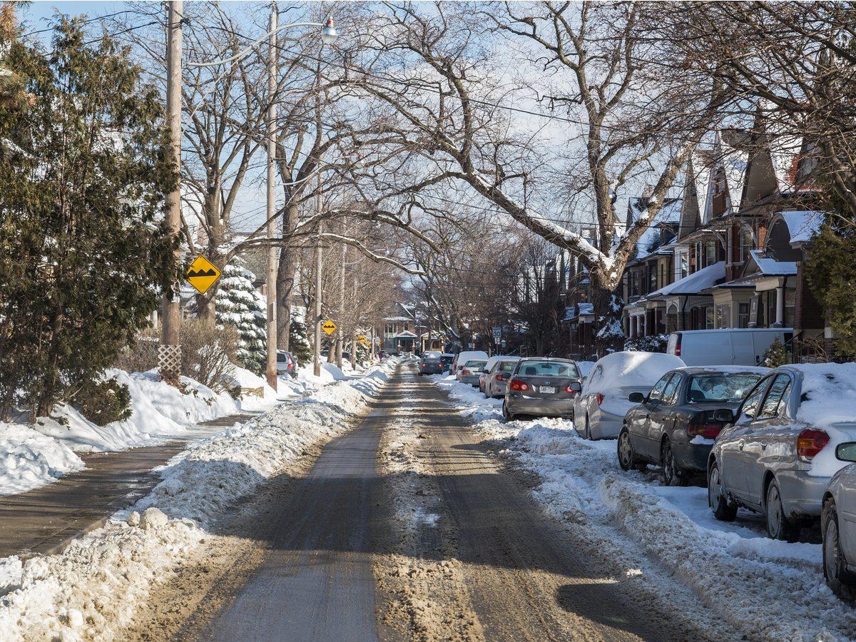 Toronto winter in 2015