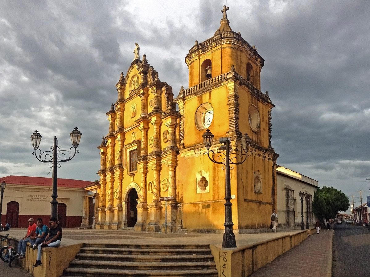 Temple in Nicaragua