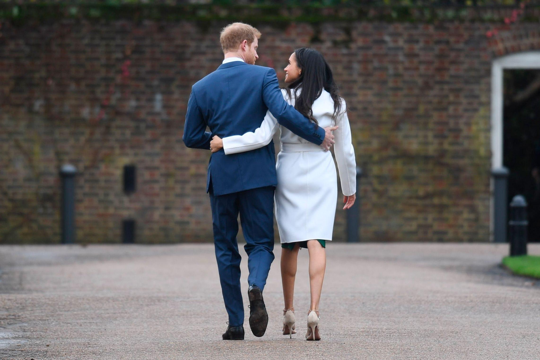 Mandatory Credit: Photo by Pete Summers/Shutterstock (9243875k) Prince Harry and Meghan Markle Prince Harry and Meghan Markle engagement announcement, Kensington Palace, London, UK - 27 Nov 2017
