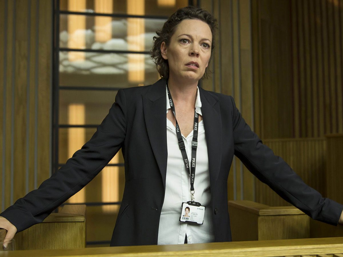 The Crown Season Three - Olivia Coleman in Broadchurch