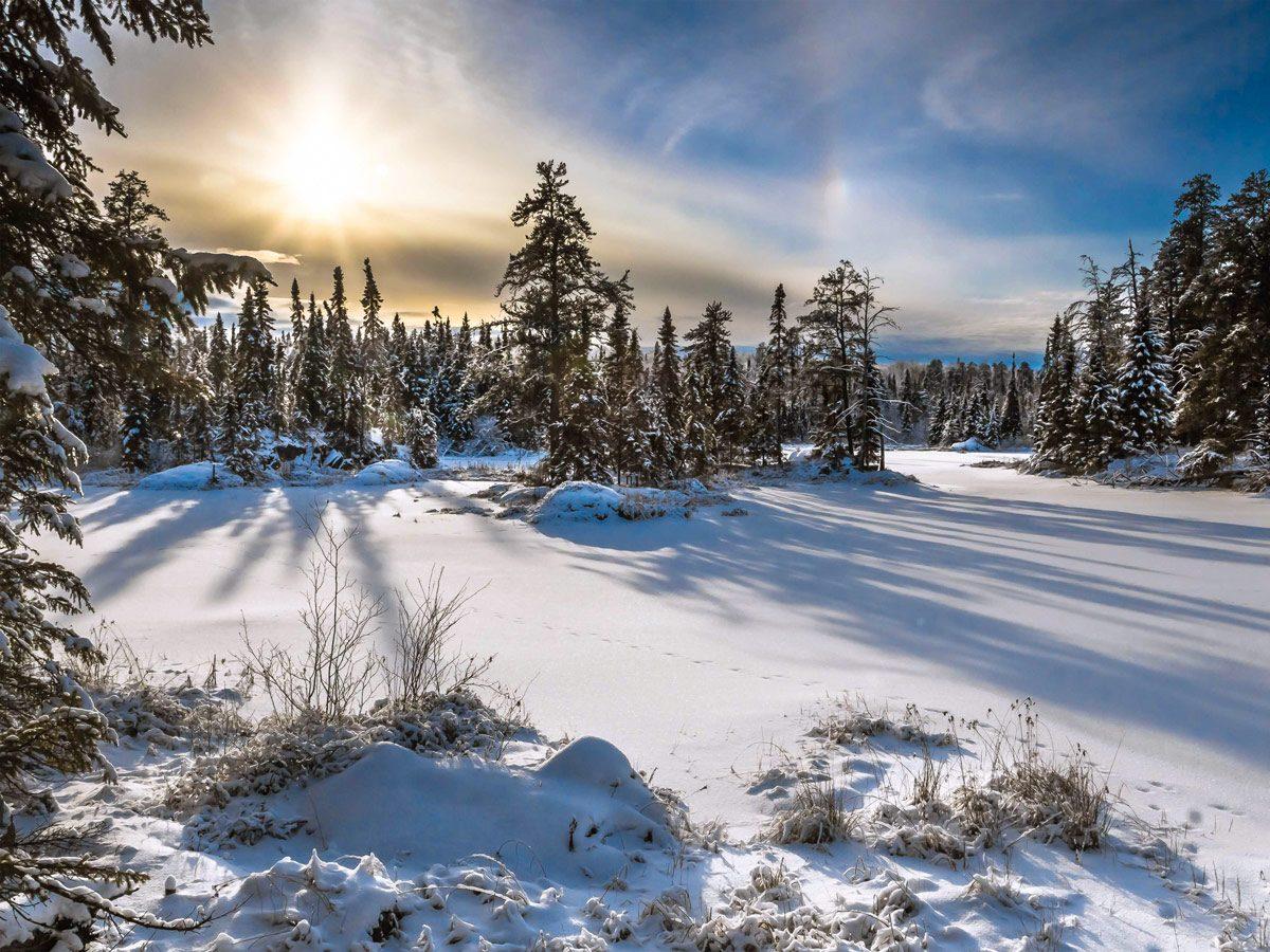 Ontario winter - winter in Northern Ontario