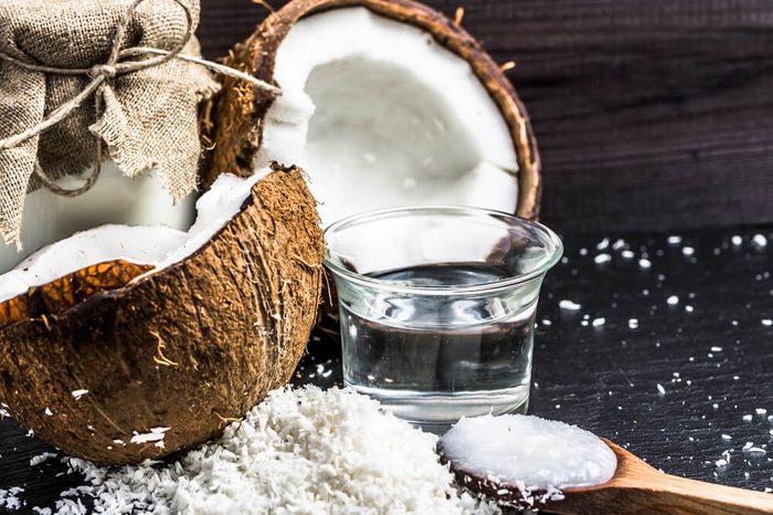 Coconut oil and coconut milk for alternative therapy