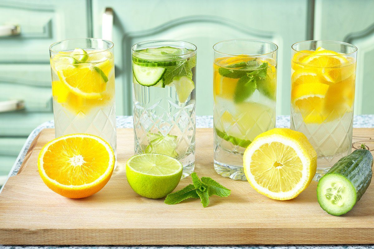 best hydration drinks,Home made healthy vitamin-fortified water