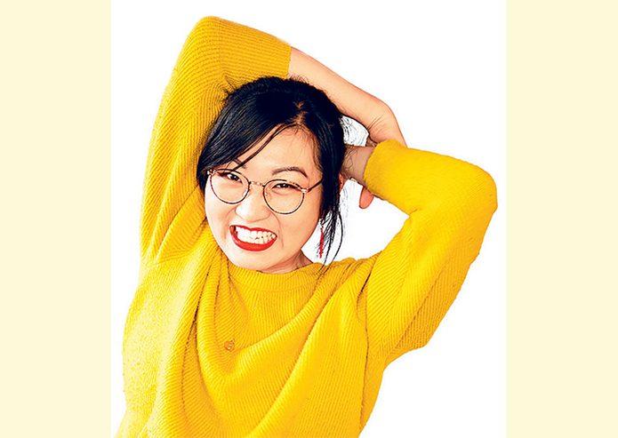 Canadian comedian Cassie Cao