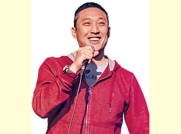 Canadian comedian Leonard Chan