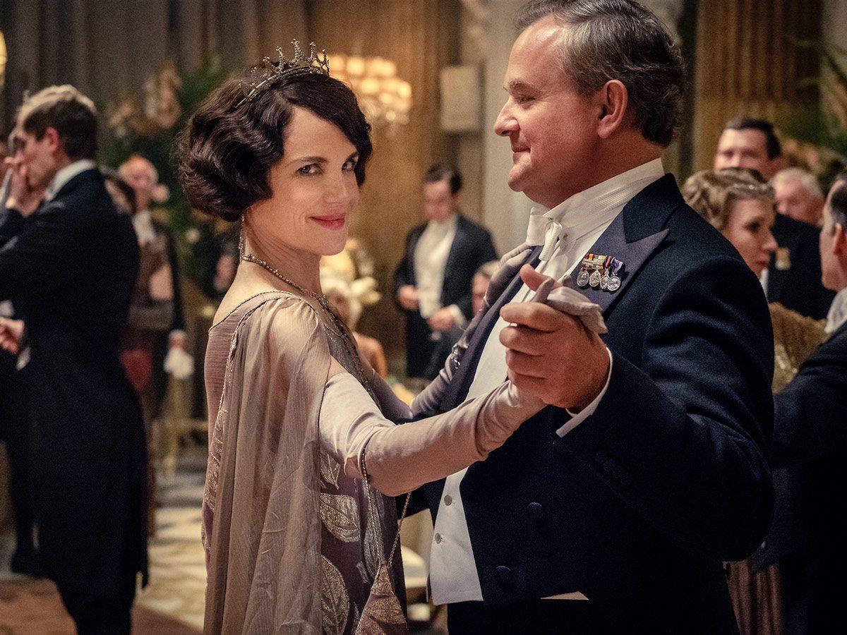 Elizabeth McGovern as Cora Crawley and Hugh Bonneville as Robert Crawley in Downton Abbey