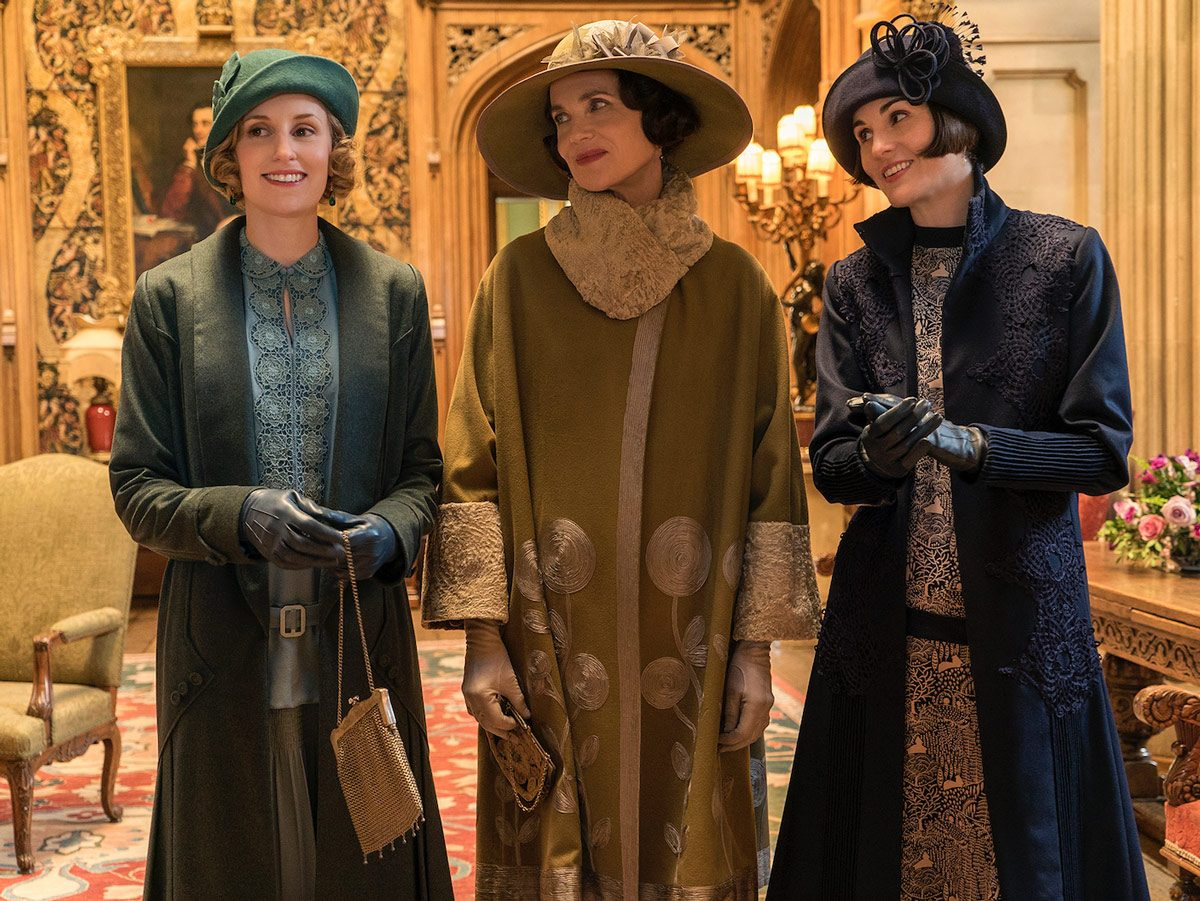 Laura Carmichael stars as Lady Edith, Elizabeth McGovern as Cora Crawley and Michelle Dockery as Lady Mary in Downton Abbey