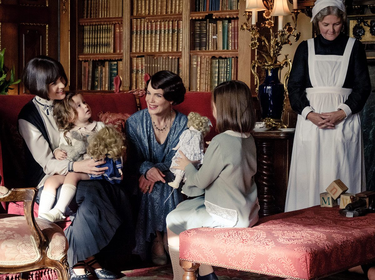 Michelle Dockery stars as Lady Mary and Elizabeth McGovern as Cora Crawley in Downton Abbey