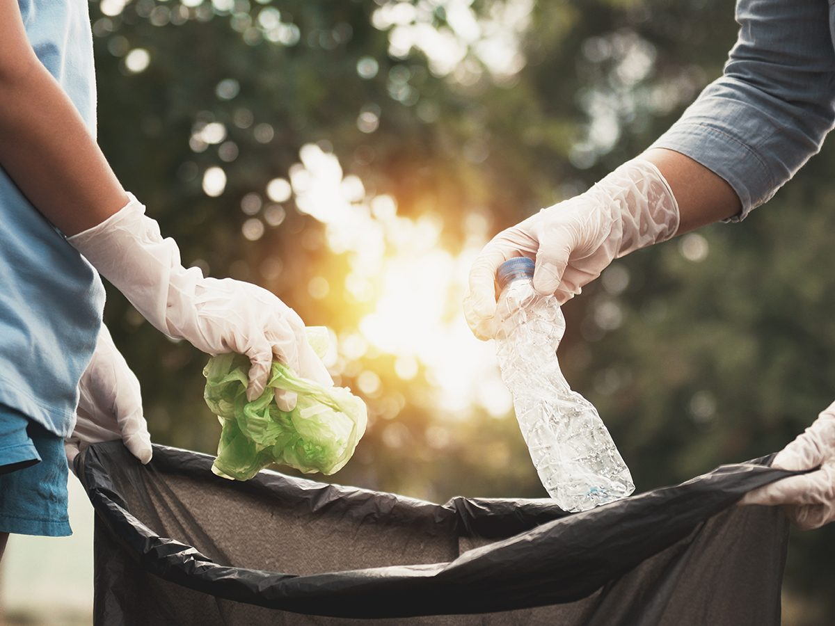 Good news - cleaning up litter