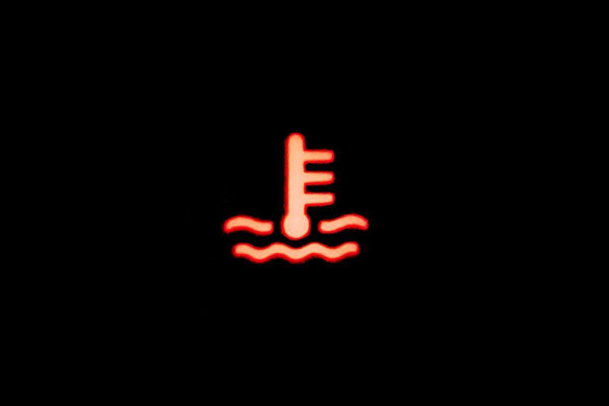 Temperature light signal