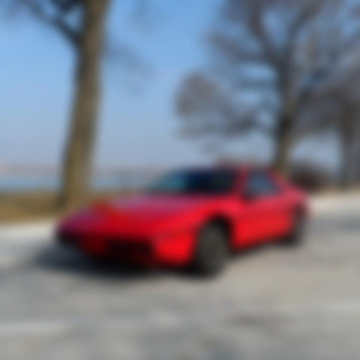 1984 Pontiac Fiero (Red)