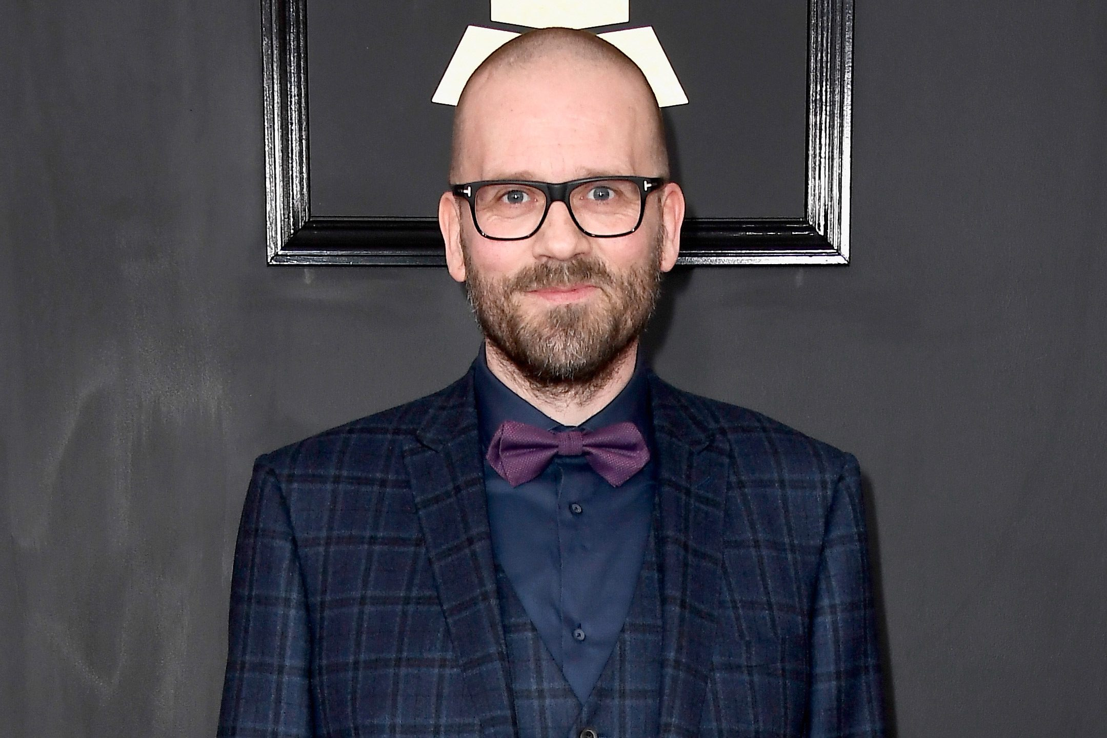 Audio engineer Morten Lindberg attends The 59th GRAMMY Awards at STAPLES Center on February 12, 2017 in Los Angeles, California.