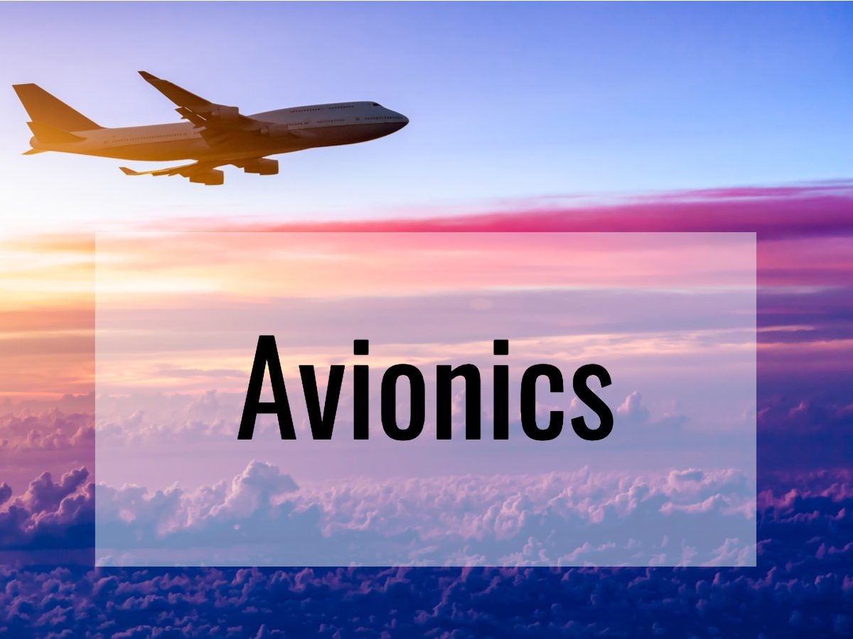 Aviation terms - what does avionics means