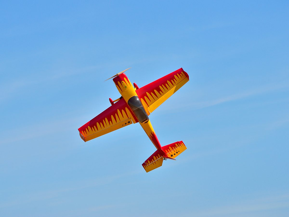 Aviation terms - model airplane