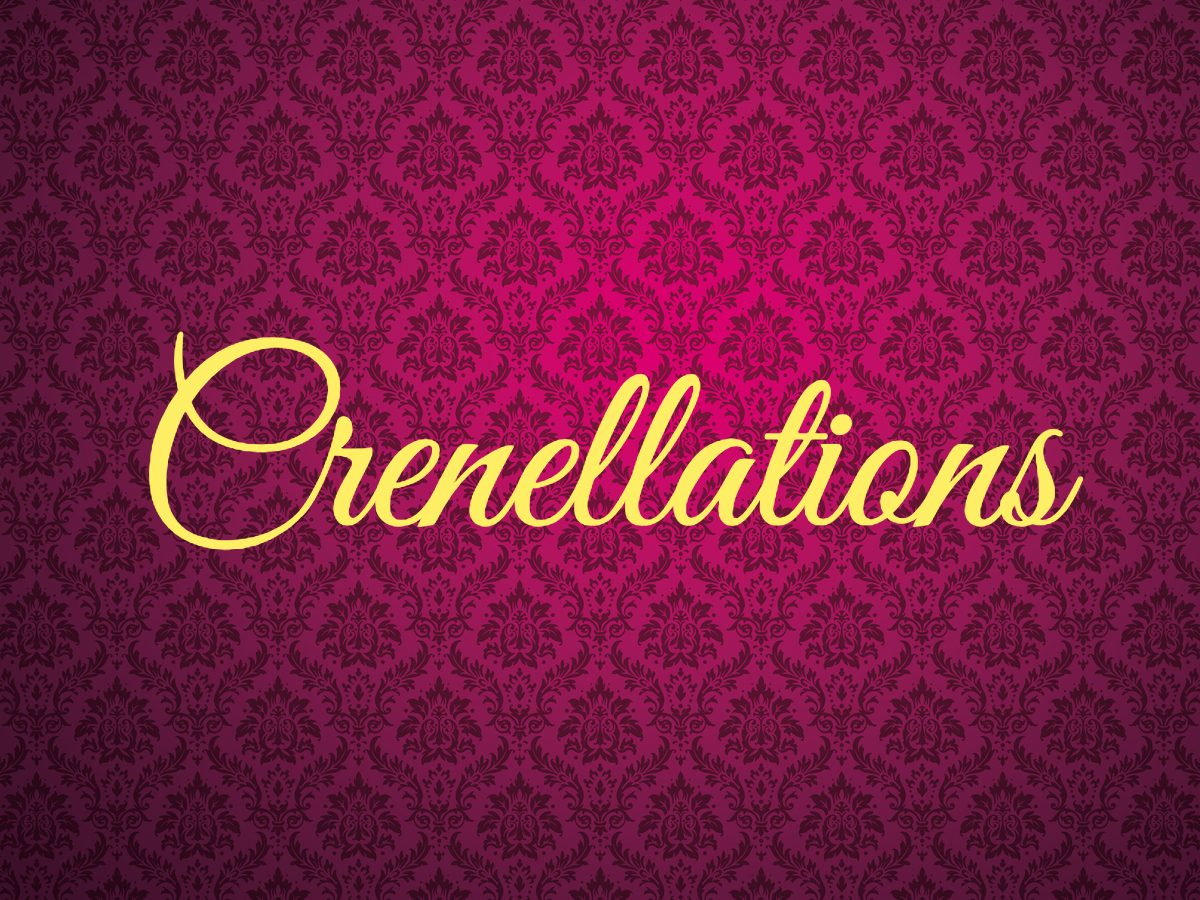 Crenellations - royal terms