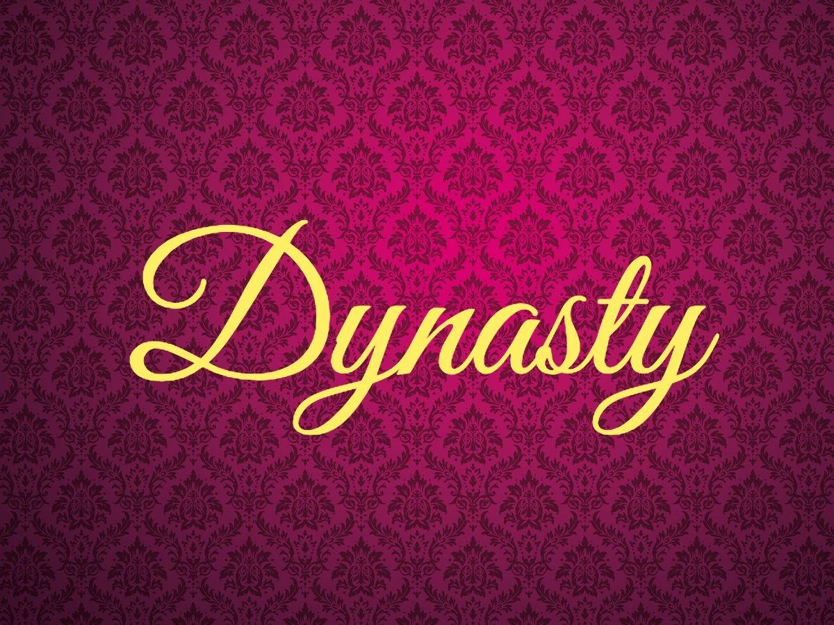 Dynasty - royal terms