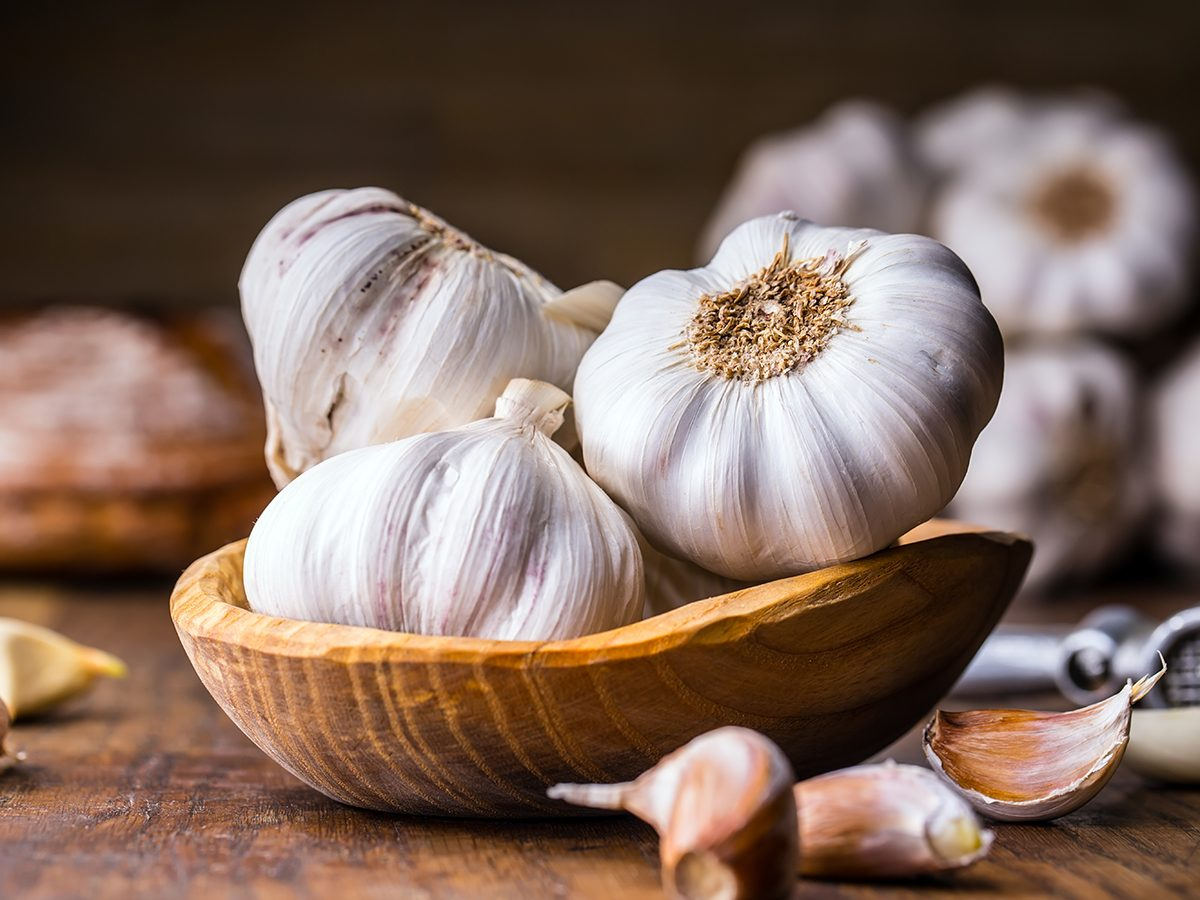 Glowing skin secrets - garlic