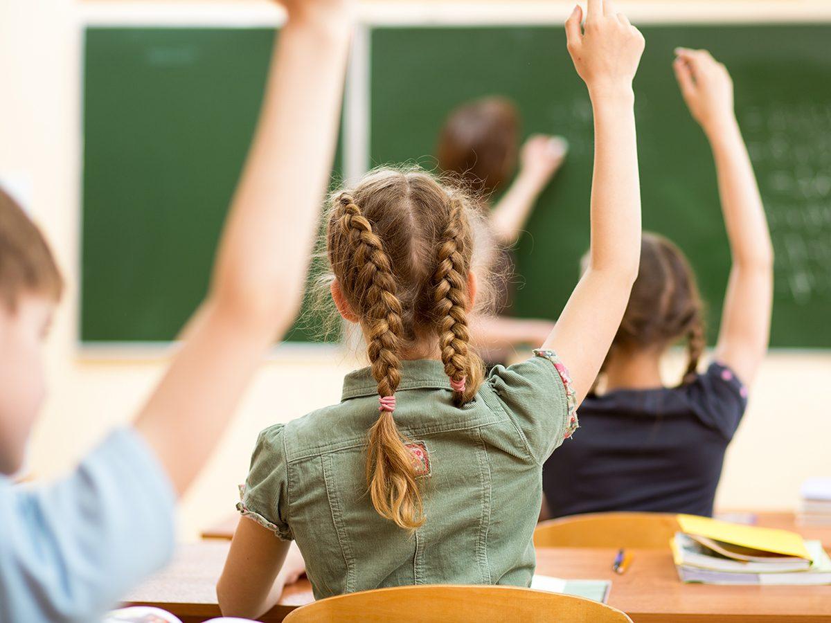 Good News - Russia children in classroom