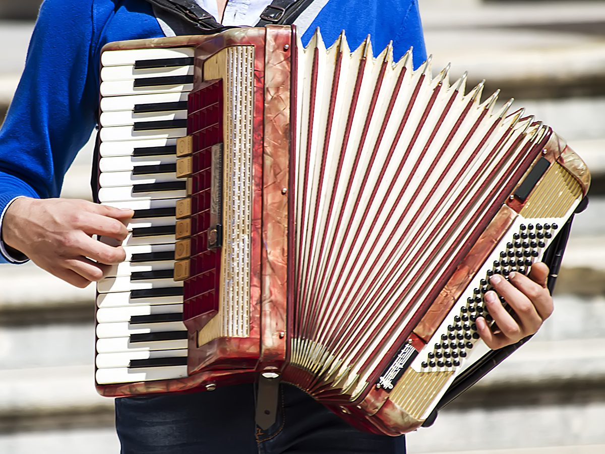 Hilarious tweets - accordion