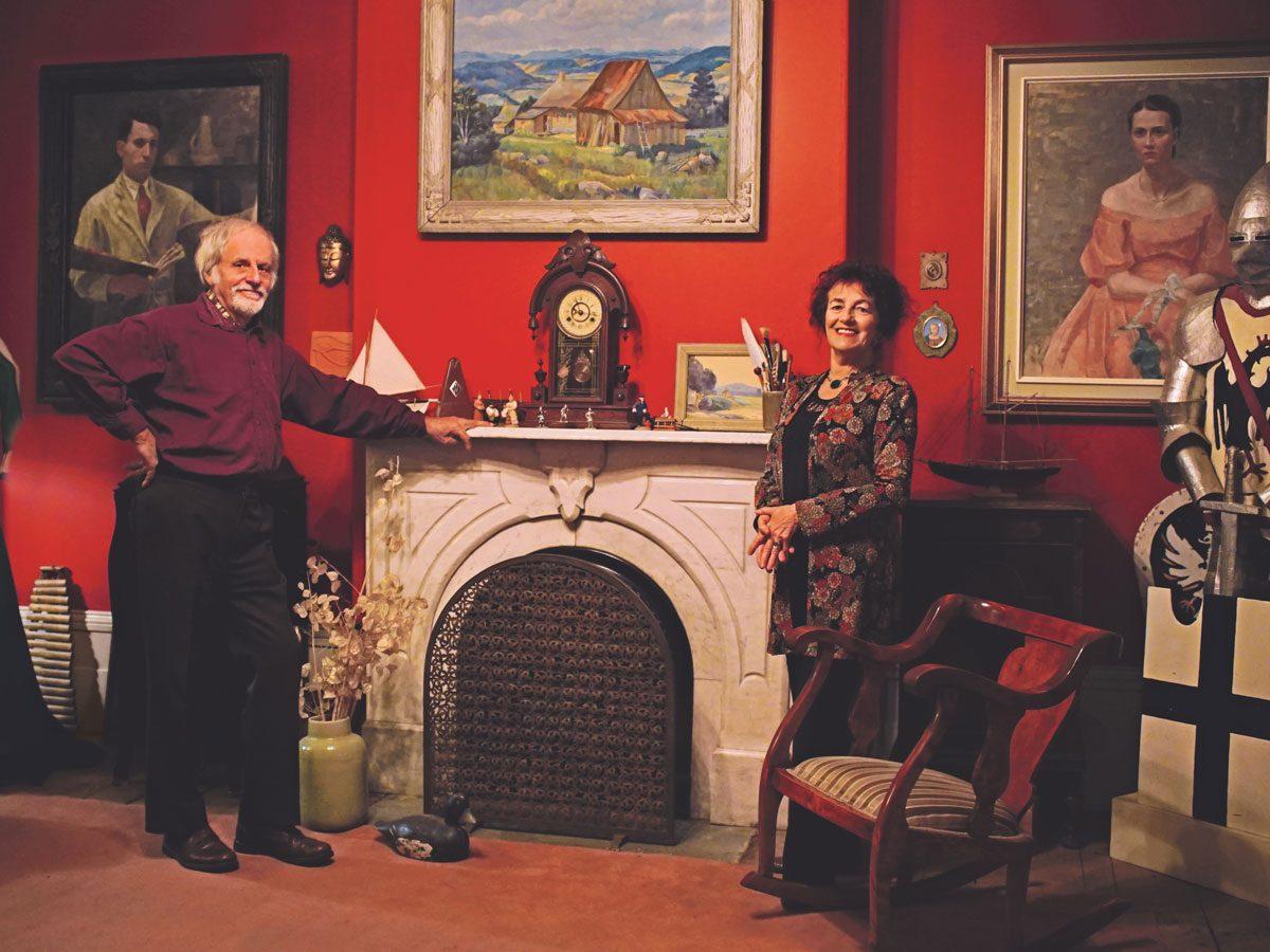Michel Bélisle and Hélène Jasmin, La Belle Amerique
