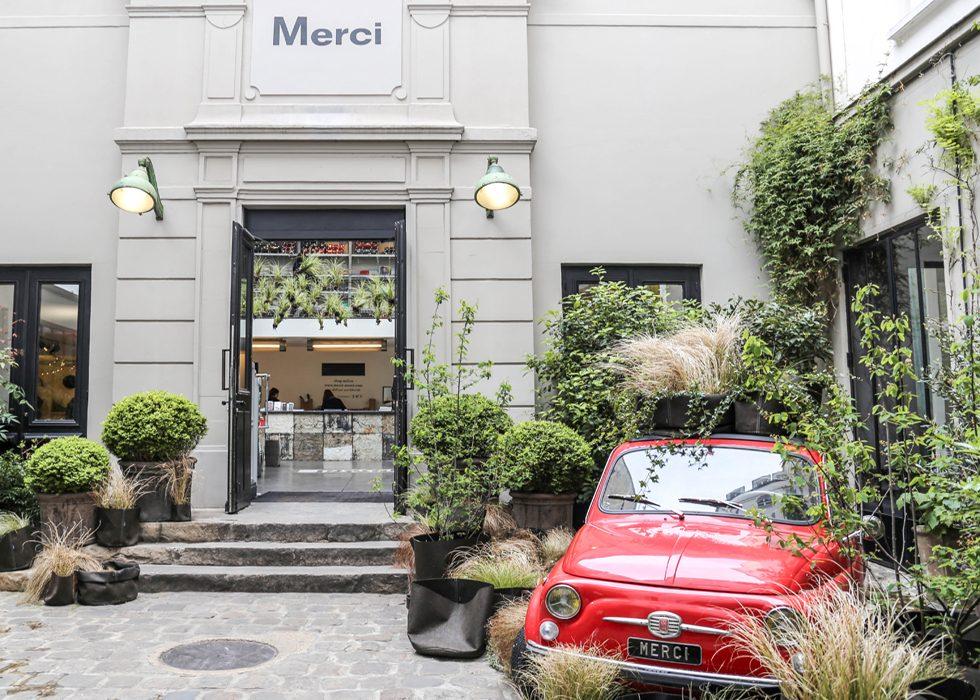 Le Marais Paris - Merci boutique