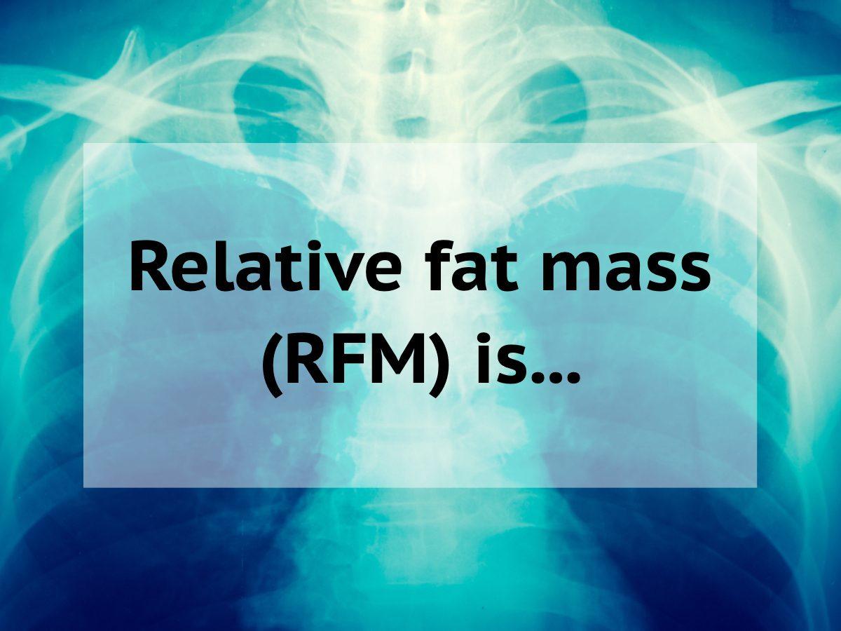Medical trivia questions - relative fat mass