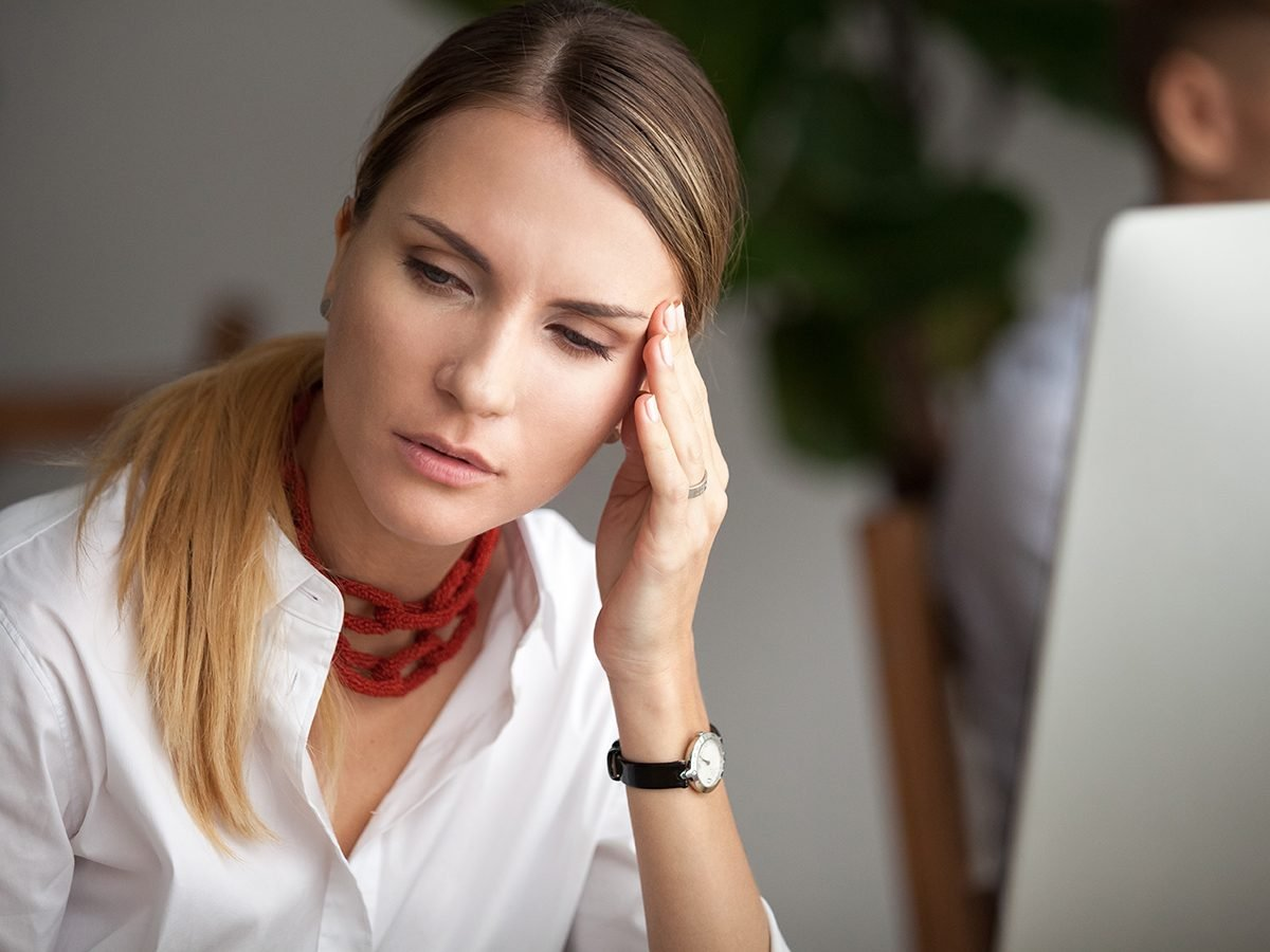 Medical trivia questions - woman with headache