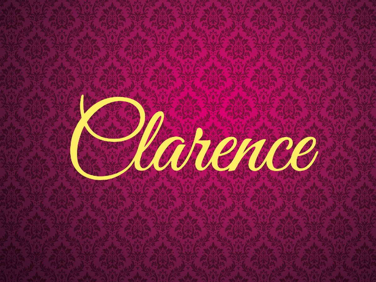 Royal terms - Clarence