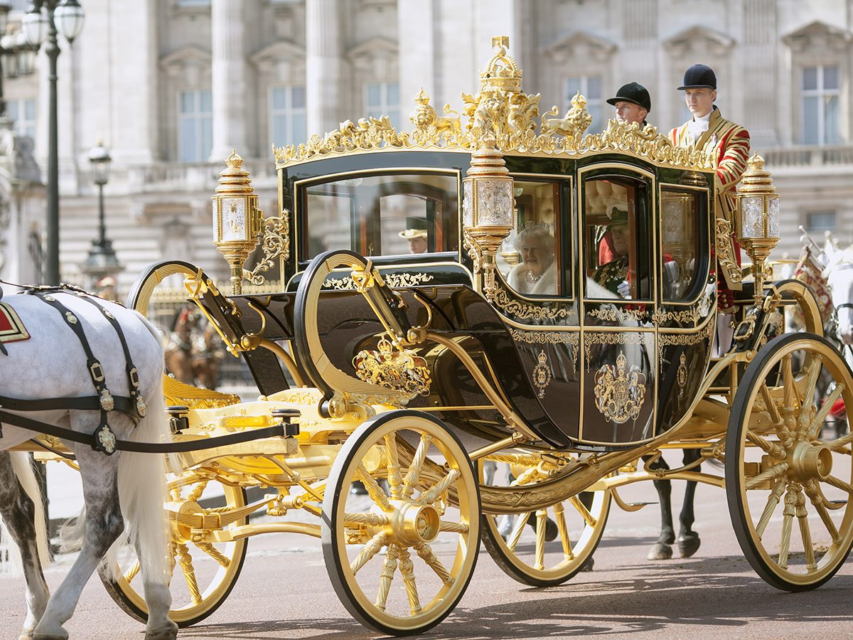Royal terms - royal carriage clarence