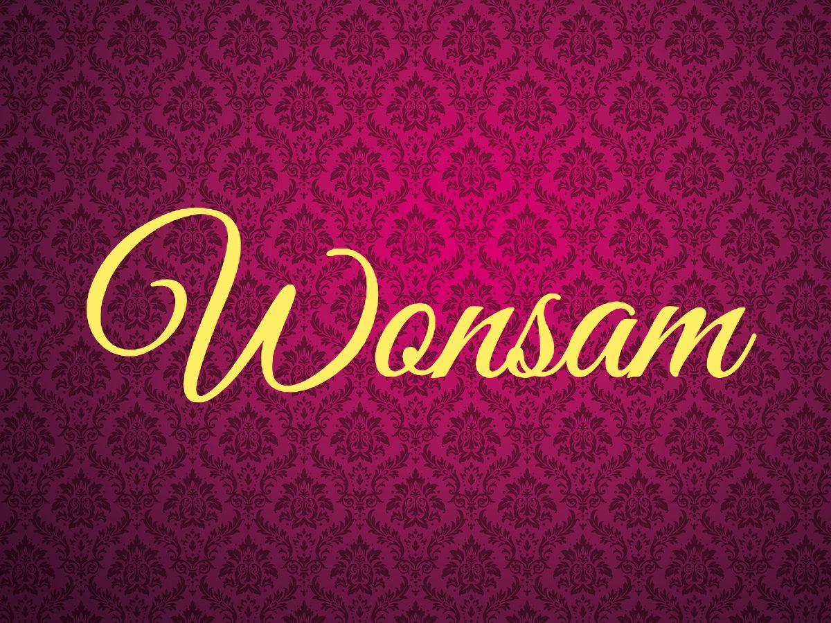 Royal terms - Wonsam