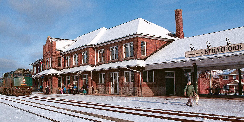 Stratford Ontario train station