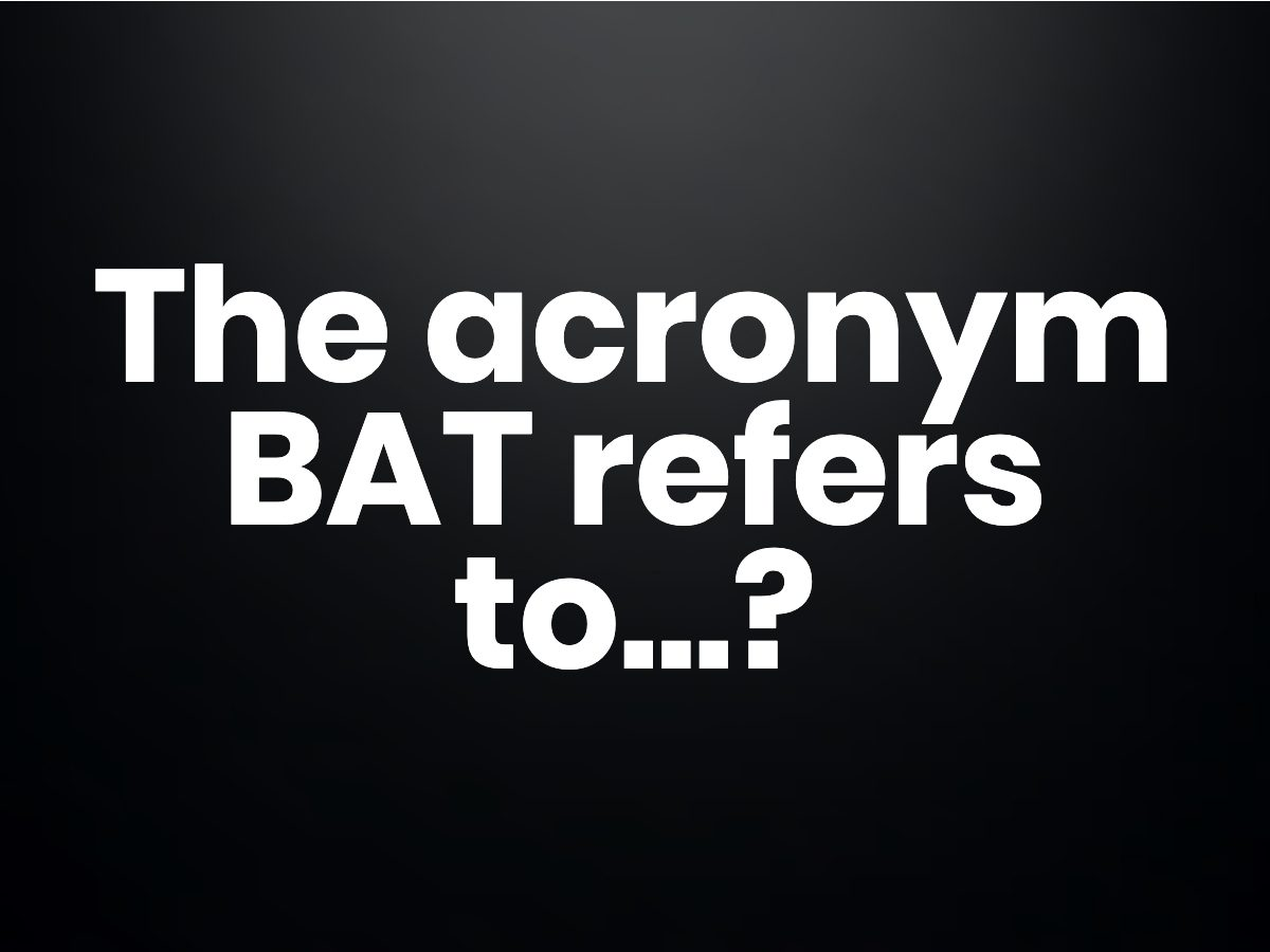 The acronym BAT refers to the dominant tech companies in which country?