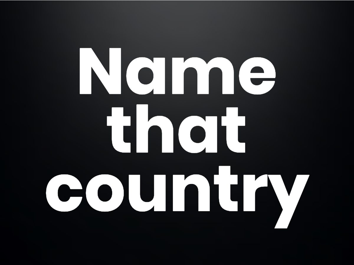 Trivia questions - Name that country