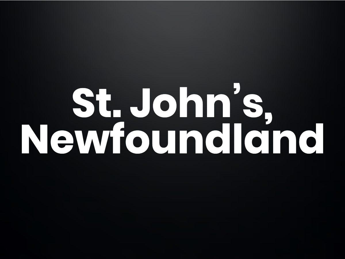 Trivia questions - St. John's, Newfoundland