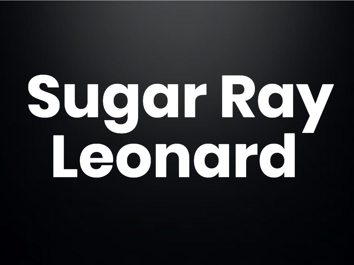 Trivia questions - Sugar Ray Leonard