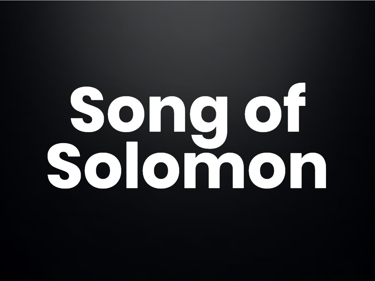Trivia questions - Song of Solomon