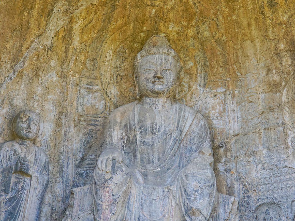 Zhou dynasty statue in China