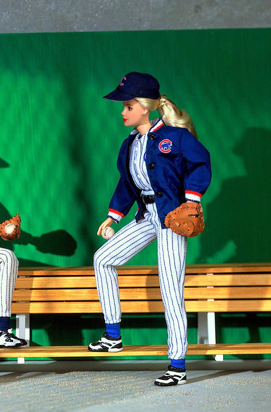 major league baseball barbie doll