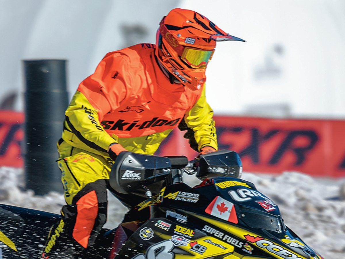 FXR Kawartha Cup Snowcross Race - snowmobile racer
