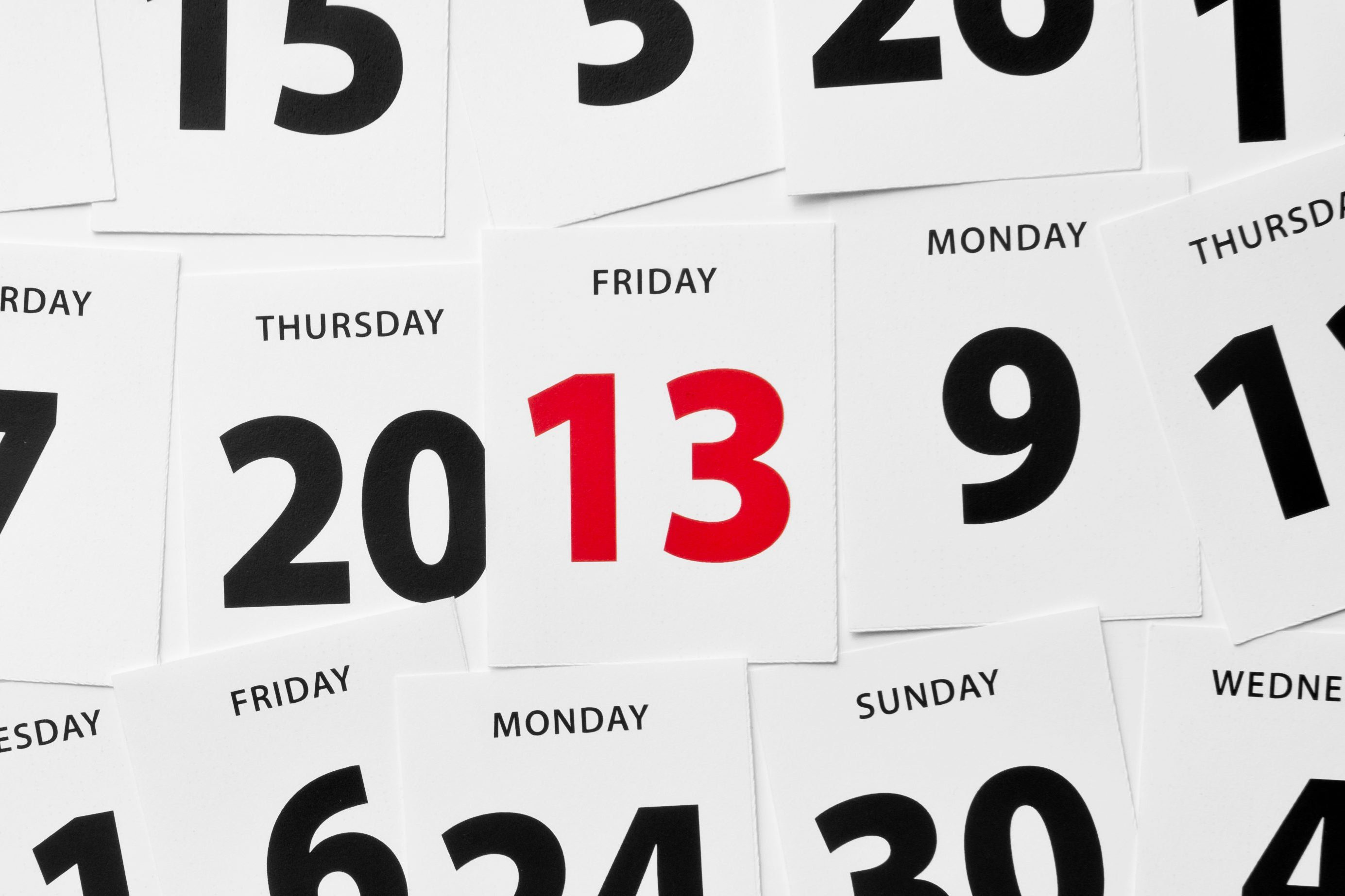 Friday the 13th lucky unlucky