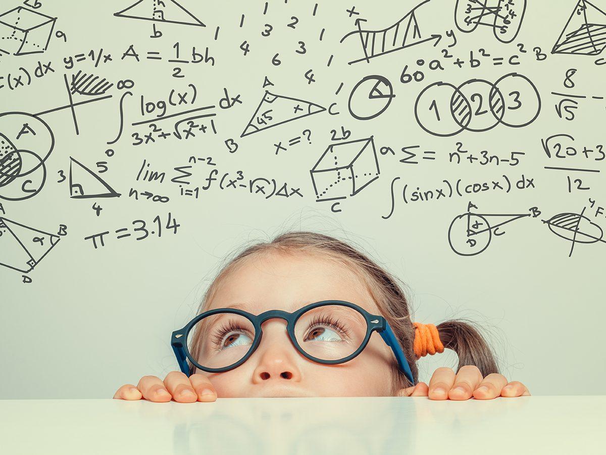 Funniest Readers Digest Jokes Ever - Little Girl Geometry Lesson