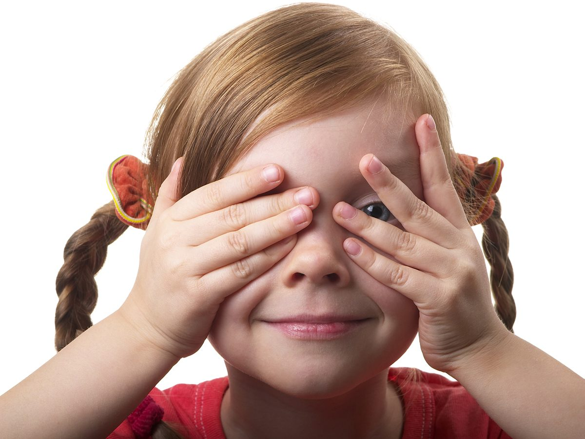Funniest Readers Digest Jokes - Little Girl Hide And Seek