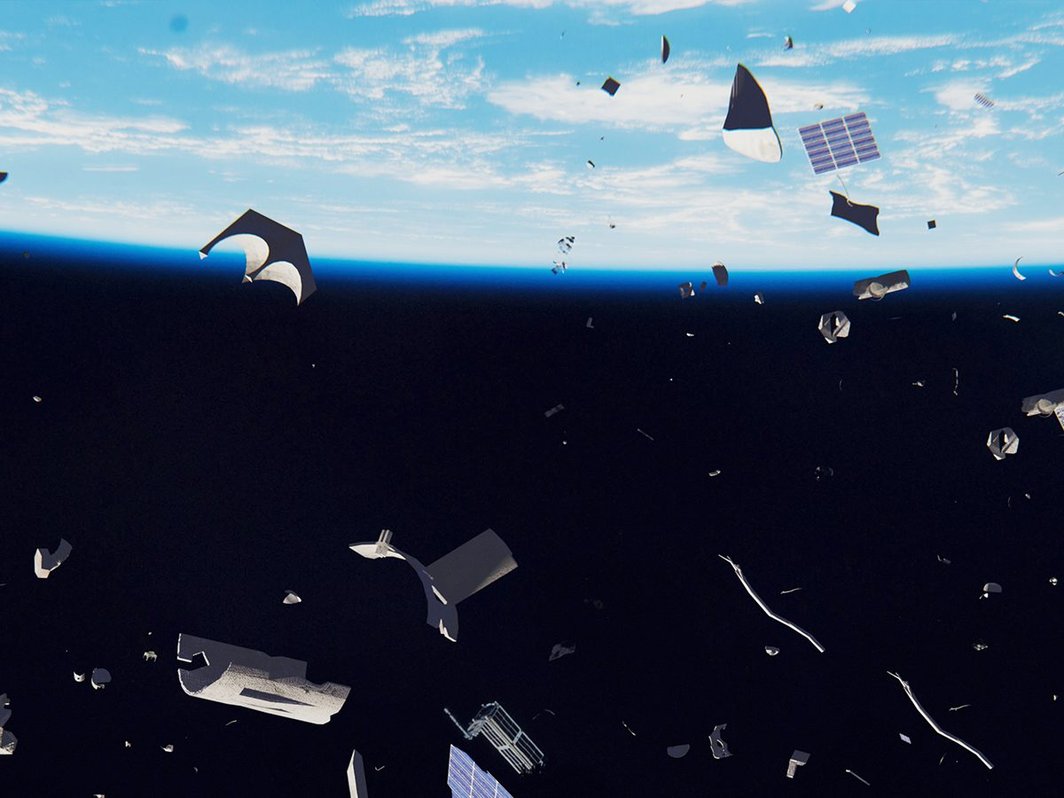 Good news - cleaning up space junk