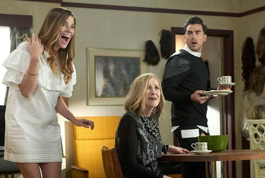 Schitt's Creek quotes - Alexis, Moira and David