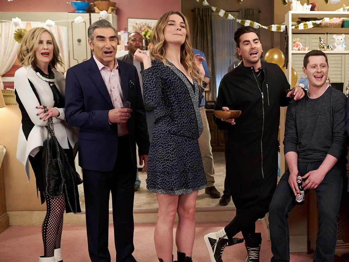 Schitt's Creek quotes - Rose family